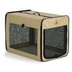 Canine Camper Day Tripper-Single Door-Folding Soft Crate